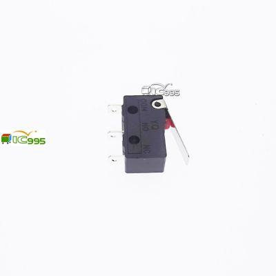 KW12 5A 125V 外扣柄長16mm 20mm×6.4mm×10mm 3腳 微動開關 1入裝 #0174