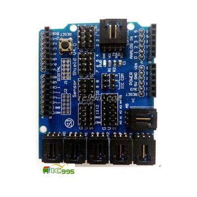 電子積木 專用感測器擴展板 V4擴展板 機器人for Arduino用 #000179